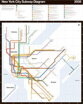 Vignelli_1972.jpg2008 Why New Yorkers Preferred a Less Attractive But Properly Scaled Subway Map Over a Modern Redesign Random