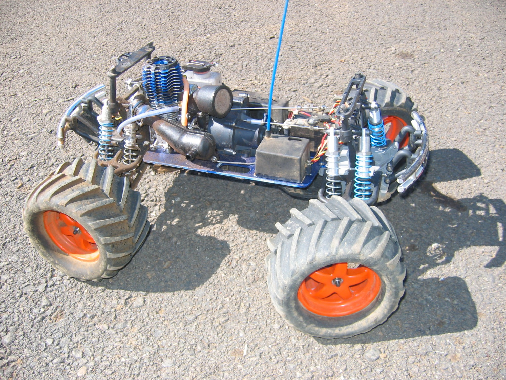 hight resolution of nitro powered models edit