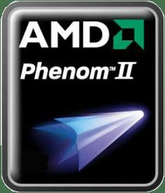 AMD Phenom logo as of 2008