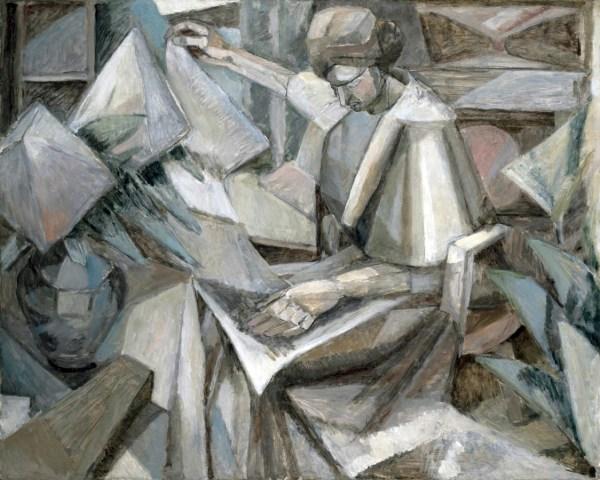 Albert Gleizes - Woman With Phlox 1910 Museum