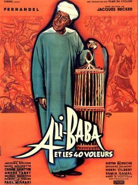 Fernandel - Ali Baba et les quarante voleurs lyrics