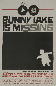 Film poster for Bunny Lake Is Missing - Copyri...