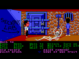 Maniac Mansion (1987) introduced SCUMM, the en...
