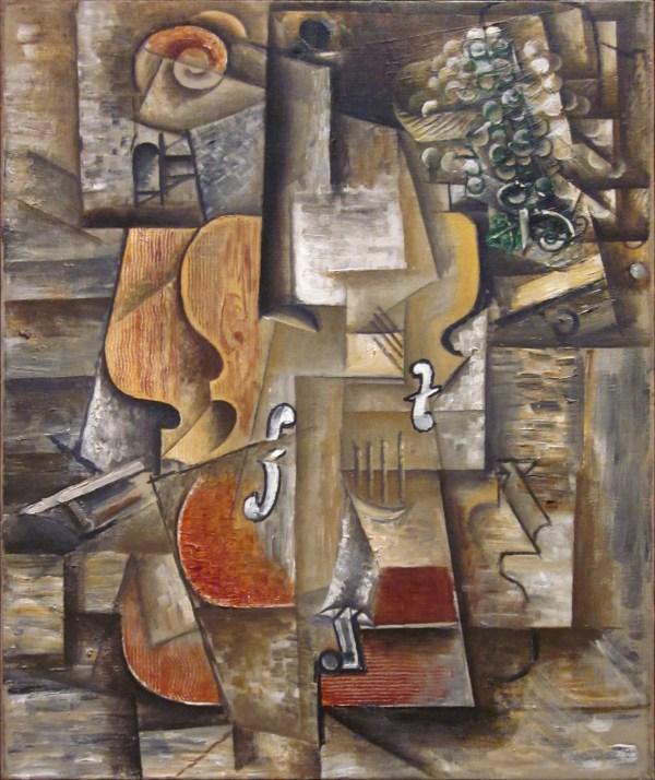 File Pablo Picasso 1912 Violin And Grapes Oil Canvas