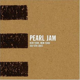 Pearl Jam - New York 2003
