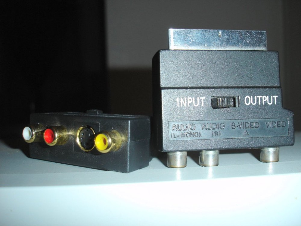 medium resolution of multi av 2 channel audio s video and cvbs scart adaptors with input output signal switch