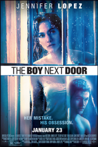 Poster for 2015 thriller The Boy Next Door