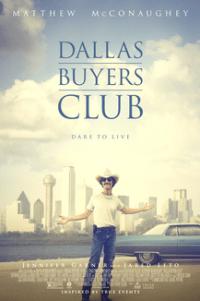 Poster for 2014 drama film Dallas Buyers Club
