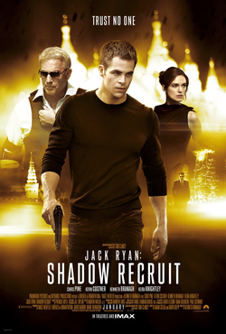 Pòster de Jack Ryan: Shadow Recruit