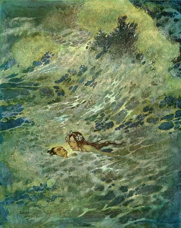 Tales Of Faerie Schonwerth' Bavarian Folktales Mermaids