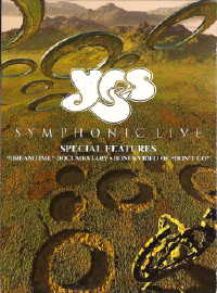 Yes - YeSymphonic Live DVD