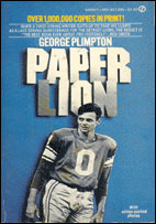 Cover of Paper Lion, featuring a picture of Ge...