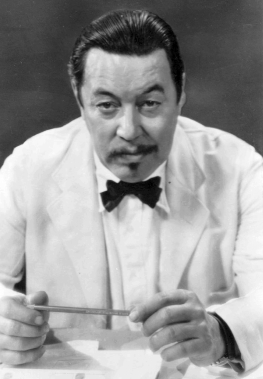 Warner Oland, a Swedish American Actor portray...