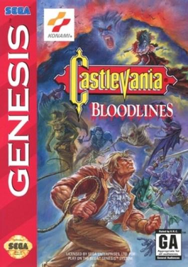 Castlevania: Bloodlines Sega Genesis cover art