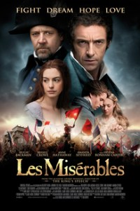 Poster for 2013 musical film Les Misérables