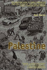 Cover of Sacco's Palestine (2001)