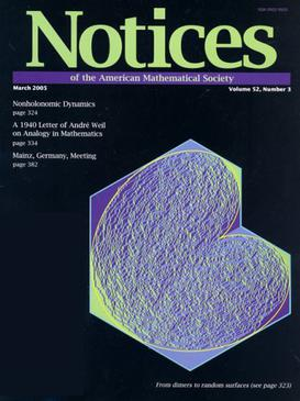 Notices Of The American Mathematical Society  Wikipedia