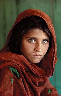Afghan Girl by Steve McCurry (Wikipedia)