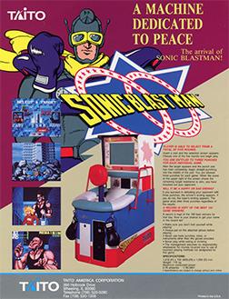 JOGA BIGNADA Sonic Blast Man SNES O Melhor Super