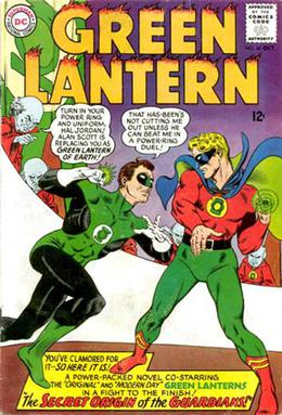 Green Lanterns of two worlds: The Silver Age H...