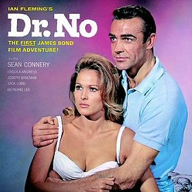 Cover of the soundtrack of the film Dr. No, wh...