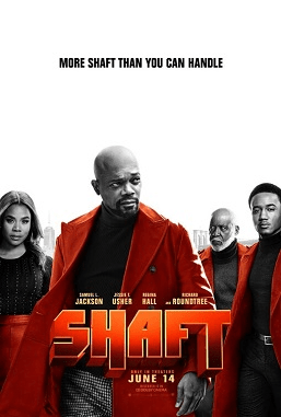 Shaft %282019%29 film poster - Shaft Movie Latest Trailer(2019)   Samuel L Jackson   SHAFT - Give :30 - In theaters June 14