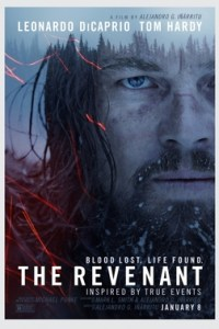 Poster for 2016 survival drama The Revenant