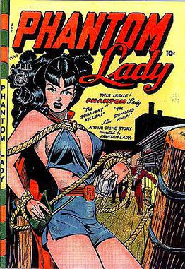 Phantom Lady #17 (April 1948). This Baker cove...