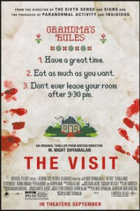 Poster for 2015 found footage horror film The Visit