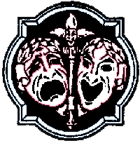Comedy and tragedy masks-II