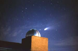 Comet Hale-Bopp and Williams Observatory