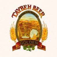 Logo of the Taybeh Beer company