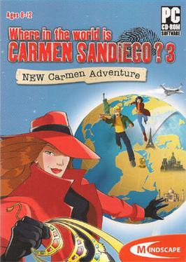 Mais Ou Se Cache Carmen Sandiego : cache, carmen, sandiego, Where, World, Carmen, Sandiego?, Adventure, Wikipedia