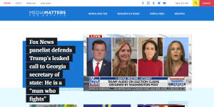 Media Matters Home Page
