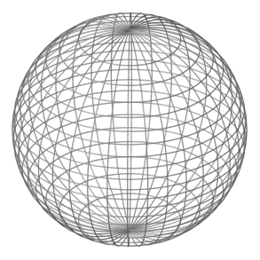 file sphere wireframe greyscale