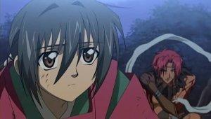 Abe no Masahiro (left) and Guren (right)