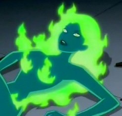 Fire on Justice League Unlimited.