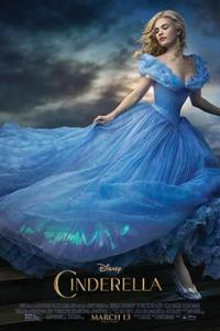 Poster for 2015 fantasy drama Cinderella