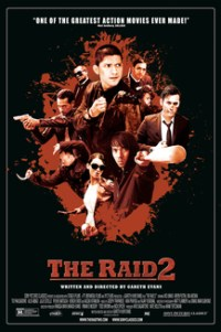 Poster for 2014 action film The Raid 2
