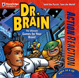 Dr Brain Action Reaction  Wikipedia