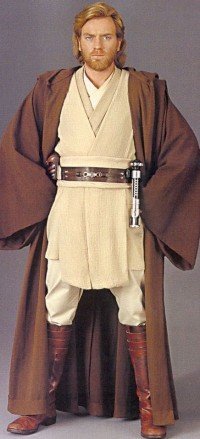 Ewan McGregor as Obi-Wan Kenobi in the Star Wa...