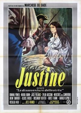 Justine Ou Les Infortunes De La Vertu Film : justine, infortunes, vertu, Marquis, Sade:, Justine, Wikipedia