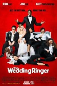 Poster for 2015 comedy The Wedding Ringer