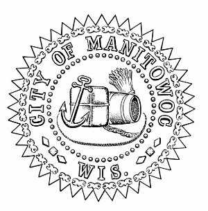Official seal of Manitowoc, Wisconsin