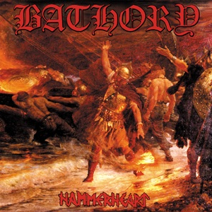 Hammerheart, by Bathory. The earliest Viking Metal album.