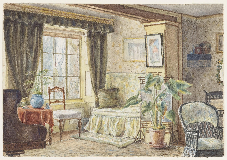 FileM F Pearce  The Drawing Room  Informal Sitting Room Brabourne Vicarage  Google Art