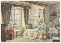 File:M. F. Pearce - The Drawing Room - Informal Sitting ...