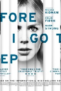 Poster for 2014 thriller Before I Go to Sleep