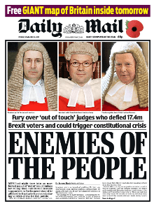 Image result for traitors daily mail