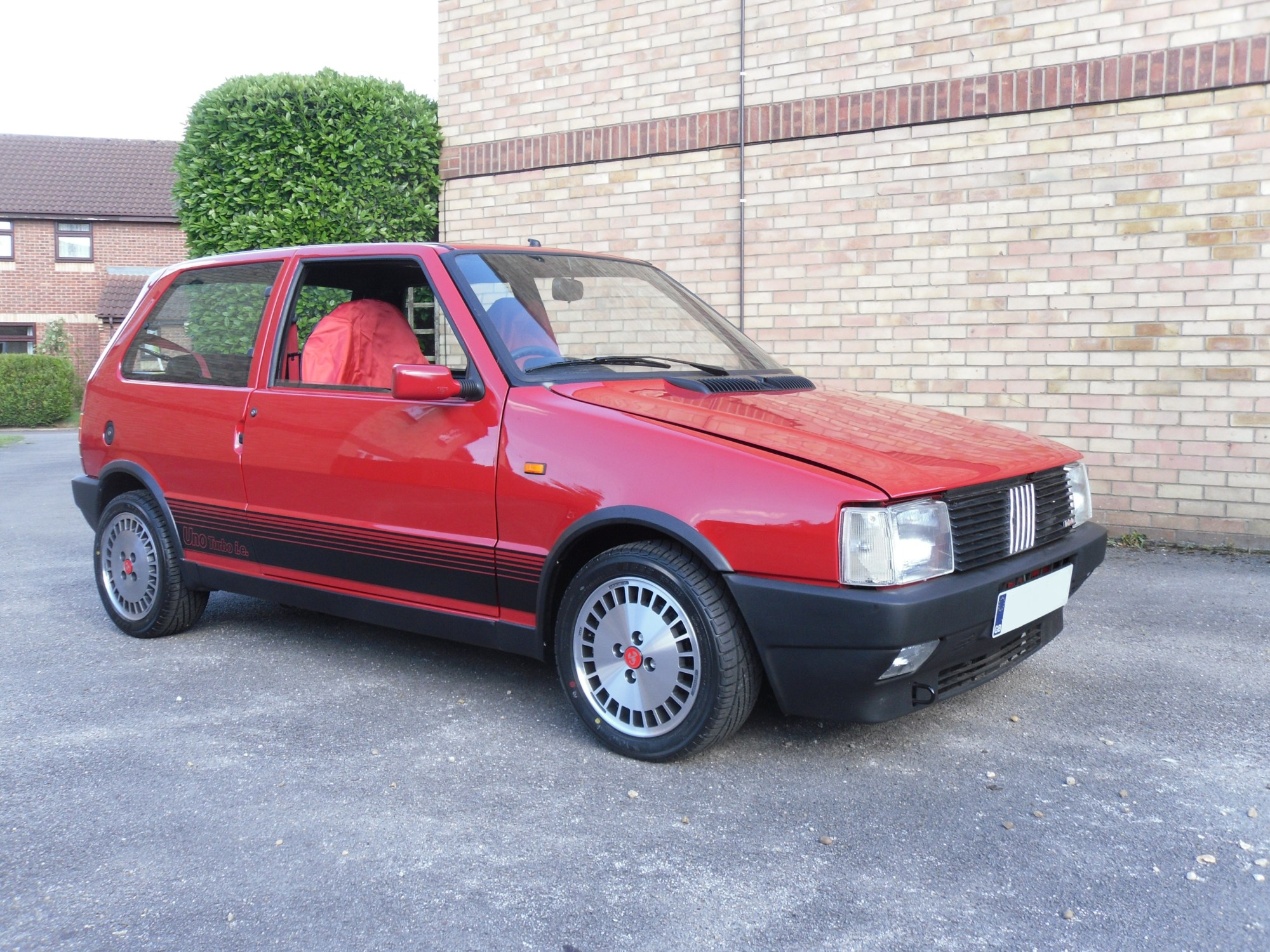 hight resolution of a 1988 fiat uno turbo i e uk registered